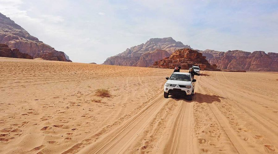 Wadi Rum Bedouin Jeep Ride